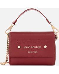 Lyst - Versace Jeans Ee1vrbbv4 E753 Light Brown Shoulder Bag in Brown 47a4d86ac6