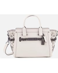 COACH - Swagger 27 Tote Bag - Lyst