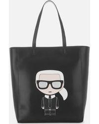 Karl Lagerfeld - Women's K/ikonik Soft Shopper Bag - Lyst
