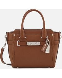 COACH - Women's Swagger 21 Tote Bag - Lyst
