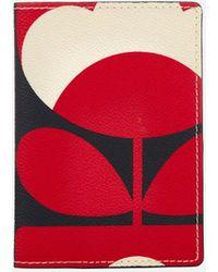 Orla Kiely - Spring Bloom Vinyl Passport Cover - Lyst