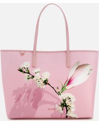 Ted Baker - Beckkaa Harmony Canvas Tote Bag - Lyst