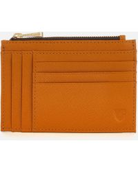 Aspinal - Double Sided Zip Card Holder - Lyst
