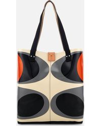 Orla Kiely - Tarpaulin Flower Stem Print Tote Bag - Lyst