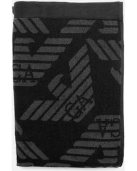 Emporio Armani - Logo Towel - Lyst