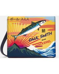 PS by Paul Smith - Box Bag With Mackerel Print - Lyst