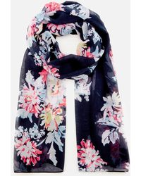 Joules - Wensley Long Line Woven Scarf - Lyst