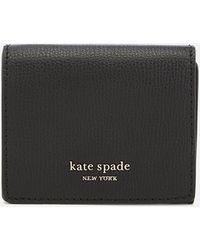 Kate Spade Sylvia Mini Trifold Wallet - Black