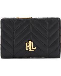 Lauren by Ralph Lauren - Carrington New Compact Wallet - Lyst