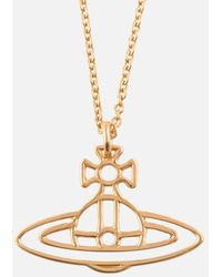 Vivienne Westwood - Thin Lines Flat Orb Pendant - Lyst