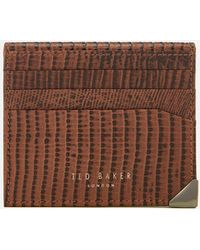 Ted Baker - Lizard Card Holder - Lyst