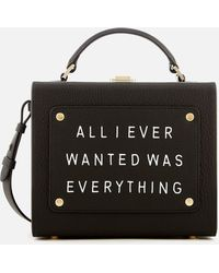 meli melo - Art Bag With Text - Lyst