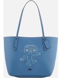 COACH - X Keith Haring Market Tote Bag - Lyst