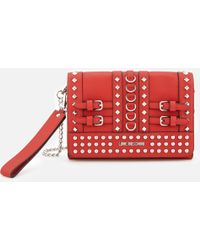Love Moschino - Studded Small Cross Body Bag - Lyst