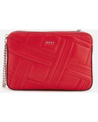 DKNY - Allen Medium Quilt Cross Body Bag - Lyst