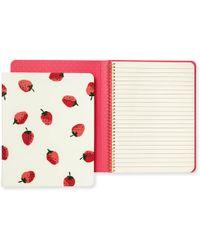 Kate Spade - Kate Spade Concealed Spiral Notebook - Lyst