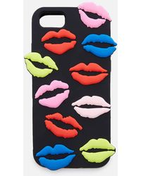 Lulu Guinness - Lip Blot Iphone 6/7/8 Case - Lyst