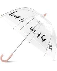 Kate Spade Polka Dot Clear Umbrella