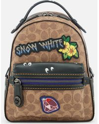 COACH - Disney X Coach Coated Canvas Snow White Campus Backpack 23 - Lyst