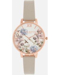 Olivia Burton - Enchanted Garden Watch - Lyst