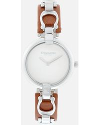 COACH - Coa Leather Watch - Lyst