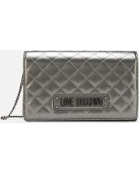 Love Moschino - Quilted Small Cross Body - Lyst