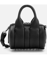 Alexander Wang - Baby Rockie Soft Pebble Leather Cross Body Bag - Lyst