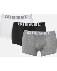 DIESEL - Kory 3 Pack Boxer Shorts - Lyst