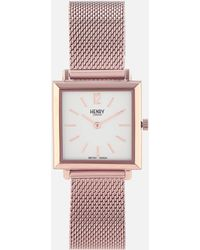 Henry London - Heritage Square Link Watch - Lyst