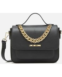 Love Moschino Chain Cross Body - Black