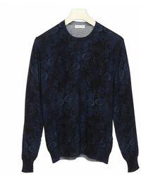 Etro Wool Jumper - Blue