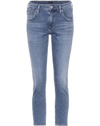 Citizens of Humanity | Elsa Cropped Slim-fit Jeans | Lyst