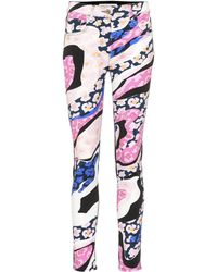Emilio Pucci - Printed Skinny Jeans - Lyst