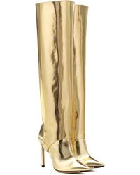 Jimmy Choo - Hurley 100 Two-piece Knee-high Boots - Lyst