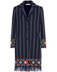 Tory Burch - Luna Embellished Coat - Lyst