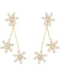 Jennifer Behr - Star Droplet Earrings - Lyst