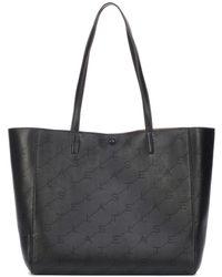 Stella McCartney - Faux Leather Shopper - Lyst
