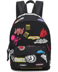 Vetements - X Eastpak® Mini Embroidered Sticker Backpack - Lyst