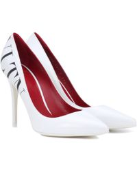 Valentino - Vltn Leather Pumps - Lyst