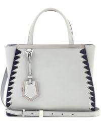 Fendi - Petite 2jours Leather Shoulder Bag - Lyst