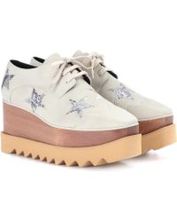 Stella McCartney - Derbies à plateforme Elyse Star - Lyst