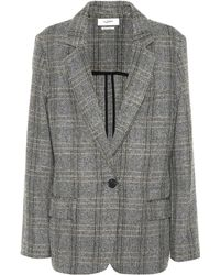 Étoile Isabel Marant - Charly Checked Wool Blazer - Lyst