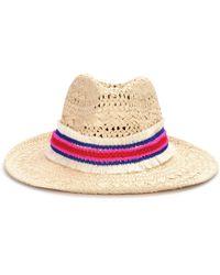 Poupette - Dalia Embellished Hat - Lyst