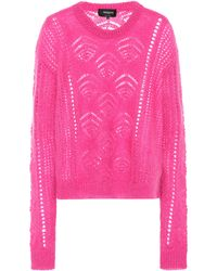 Rochas - Mohair And Wool-blend Sweater - Lyst