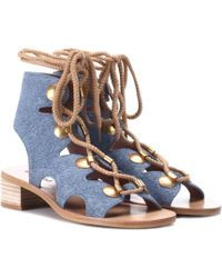 See By Chloé - Edna Suede Sandals - Lyst