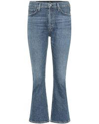 Citizens of Humanity - Jeans flared Demy a vita alta - Lyst