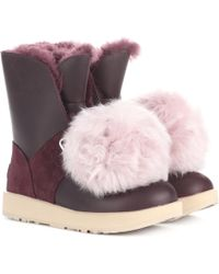 UGG - Isley Waterproof Ankle Boots - Lyst