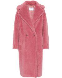 Max Mara - Tapioca Wool-blend Teddy Coat - Lyst