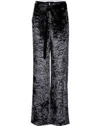 Proenza Schouler - Pantalones anchos de terciopelo - Lyst