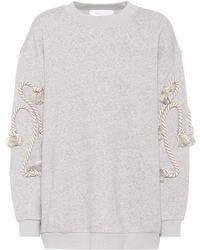 See By Chloé - Cotton-blend Sweatshirt - Lyst
